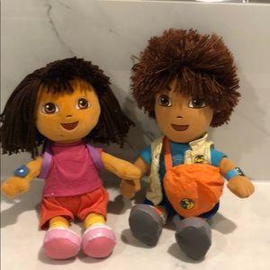 Dora & Diego TY